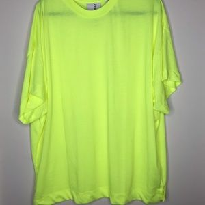 Neon yellow ASOS T-shirt